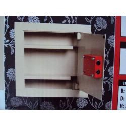 Įmontuojamas plieninis seifas 532-1